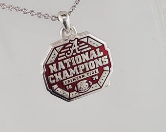 Alabama CFP 2020 National Championship Necklace