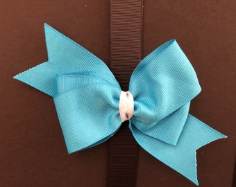 Classic Teal Bow
