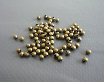 50 beads spacer beads 2 mm