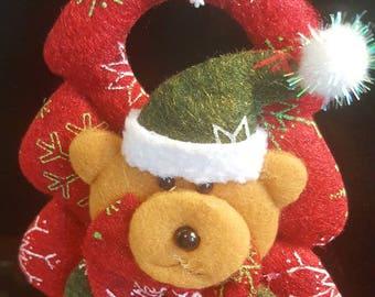 Christmas bear Christmas tree decoration
