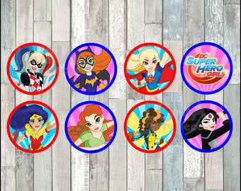 Dc Super Hero Girls Etsy