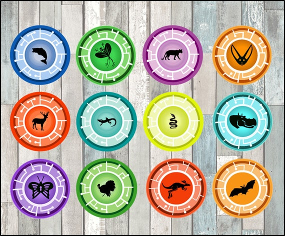 Wild Kratts Toppers Instant Download Printable
