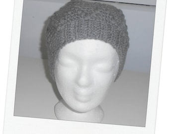 Very soft Beanie wool T56 embossing