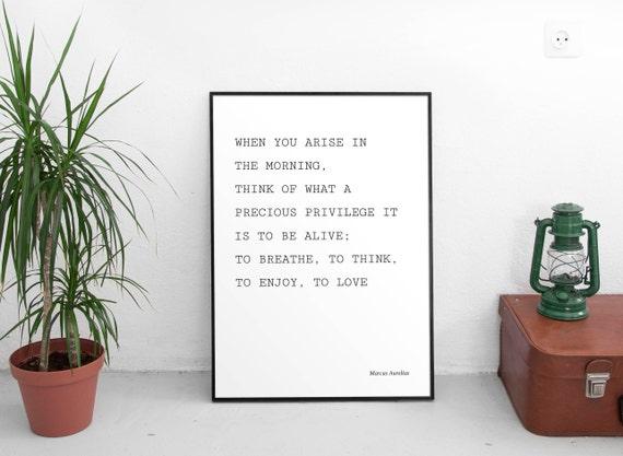 Kiedy Pojawi Się Cytat Przez Marcus Aurelius Mądry Cytaty Cytaty życia Inspirujące Cytaty Motywacyjne Cytaty Digital Download Sztuka Nowoczesna