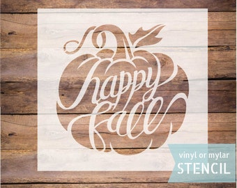 The Best Fall Stencils For Wood