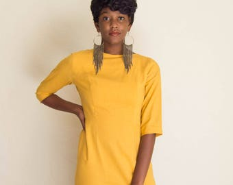 Vintage 50's Style Fitted Dress