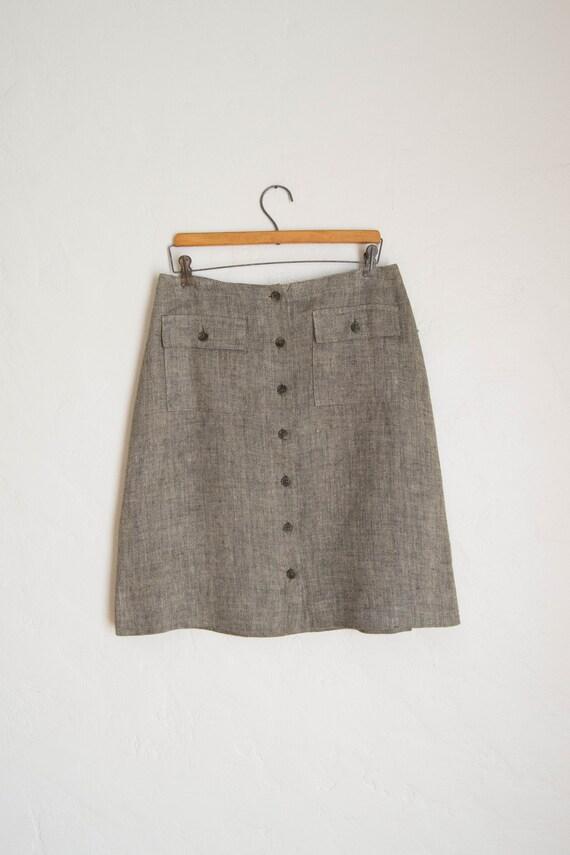 90's Jones New York Button front Skirt