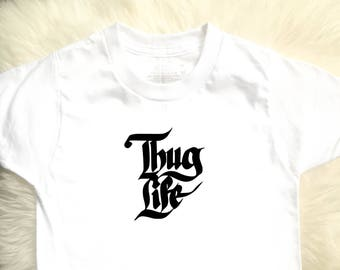 Thug Life Toddler & Youth Tee