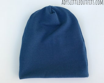 Blue Slouchy baby beanie-baby brother beanie-matching brother beanies- newborn  baby beanie- slouchy hat-hospital hat- da54b196d63