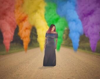 Color smoke bomb   Etsy