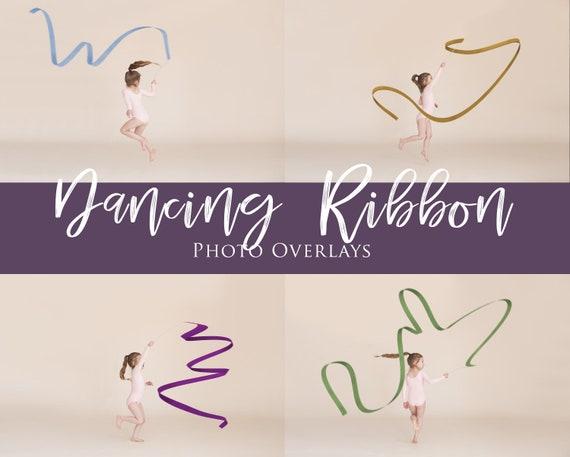 55 Ribbons overlays Flying ribbon clipart PNG photoshop ribbon gymnastics
