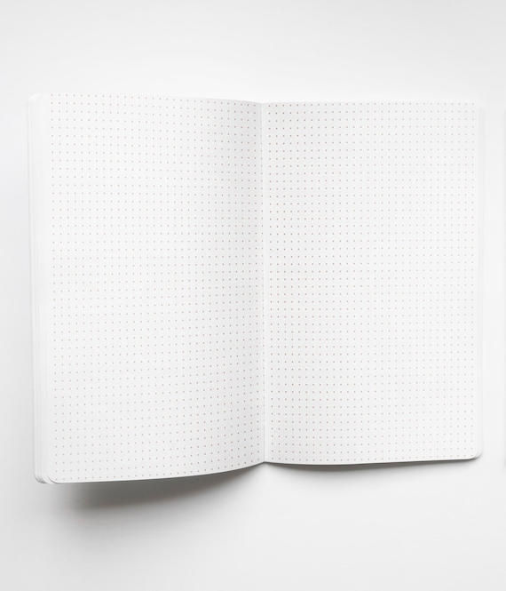 This is a picture of Bullet Journal Paper Printable intended for ledger