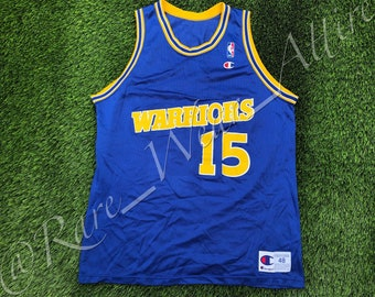 f02602353b0 NBA Jersey Golden State Warriors Latrell Sprewell Champion Authentic Size  48 XL Vintage 90s Ca Bay Area