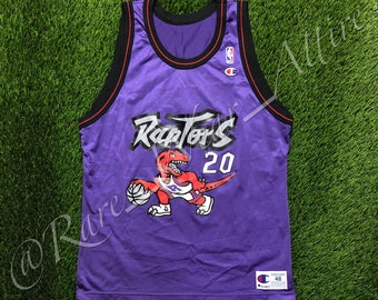a83626ae9a7 NBA Jersey Toronto Raptors Damon Stoudamire Champion Size 48 XL Vintage  Rare Huskies