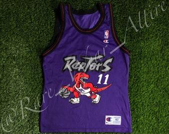 4b0ff36bf NBA Jersey Toronto Raptors Isaiah Thomas Champion Size 40 Medium Vintage  90s Dino