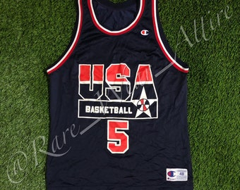 be2a9e364eb1 NBA Team USA Dream Team Jersey Mark Price Champion Size 48   XL Vintage  Olympics 1992 Cleveland Cavaliers Away