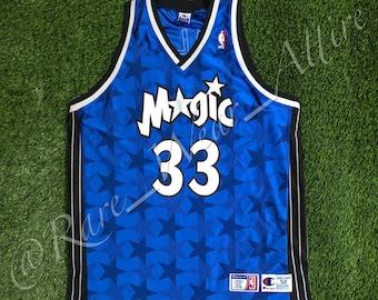 f1c793e71 NBA Jersey Orlando Magic Sz 52 2XL Grant Hill Champion Authentic McGrady  Hardaway Vintage