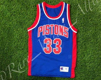 2e0f6efd9 NBA Jersey Detroit Pistons Grant Hill Champion Authentic Size 40 Medium  Vintage Rare Griffin