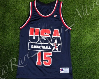 NBA Jersey USA Basketball Dream Team Magic Johnson Size 44 Large Vintage Lakers