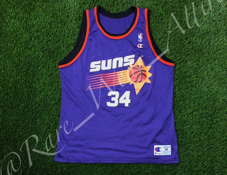 NBA Jersey Charles Barkley Phoenix Suns Champion Size 48 XL  256c39535