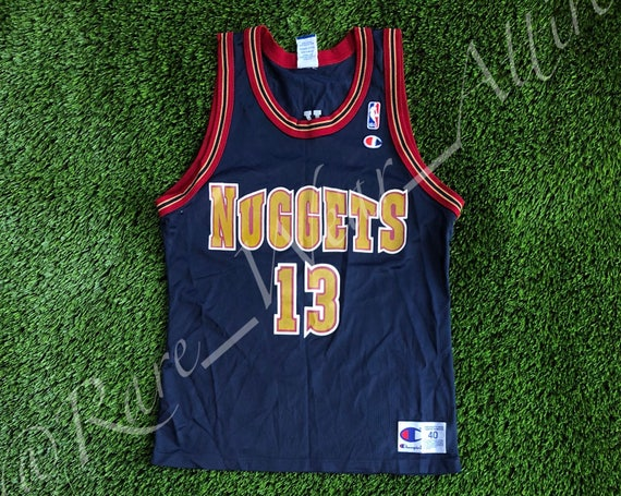 2175ee026 NBA Jersey Denver Nuggets Mark Jackson Champion Size 40 Medium