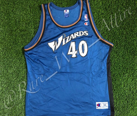 new product c2d28 6dd15 NBA Jersey Washington Wizards Calbert Cheaney Champion Size 52 2XL Vintage  90s Away