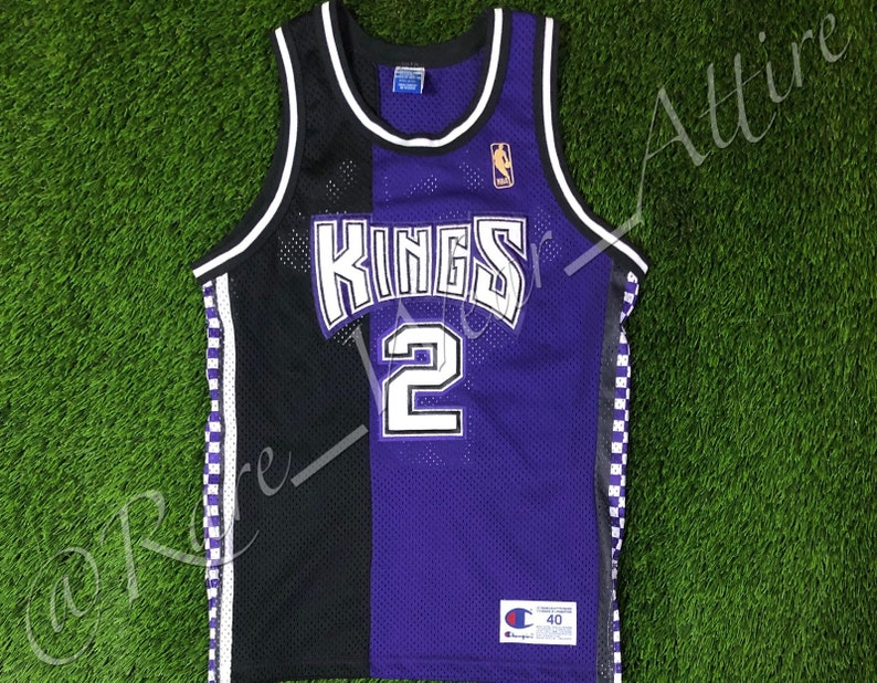 5f2657e8bd8 NBA Jersey Sacramento Kings Mitch Richmond Champion Authentic