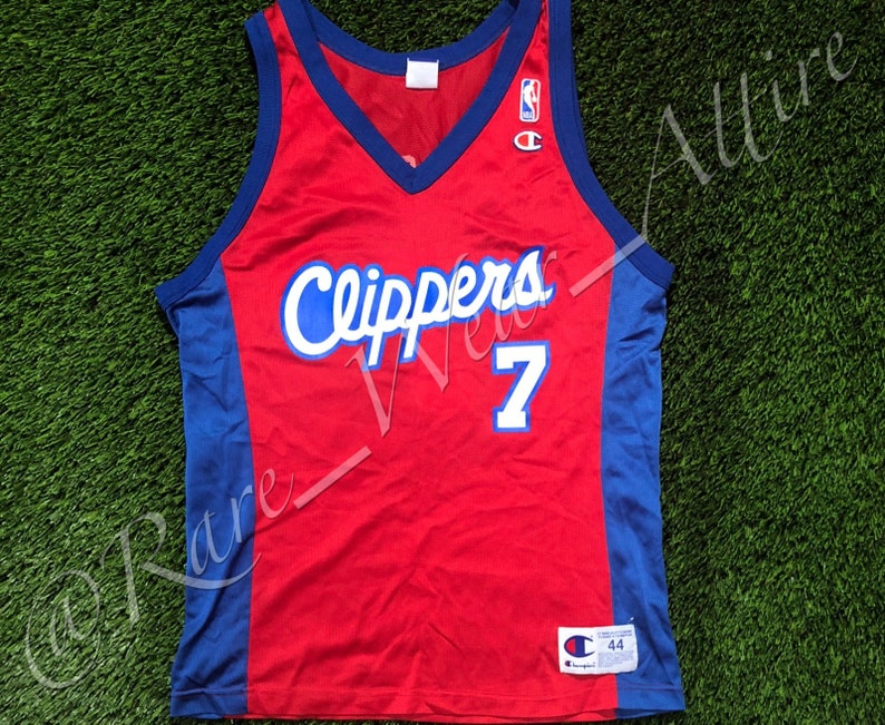 fd5dc6843 NBA Jersey Los Angeles Clippers Lamar Odom Champion Size 44