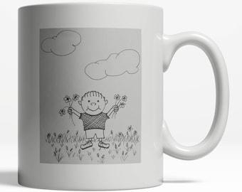 Floral Mug| Original Coffee Mugs| Spring Mug| Floral Mug| Season Mug| Spring 020