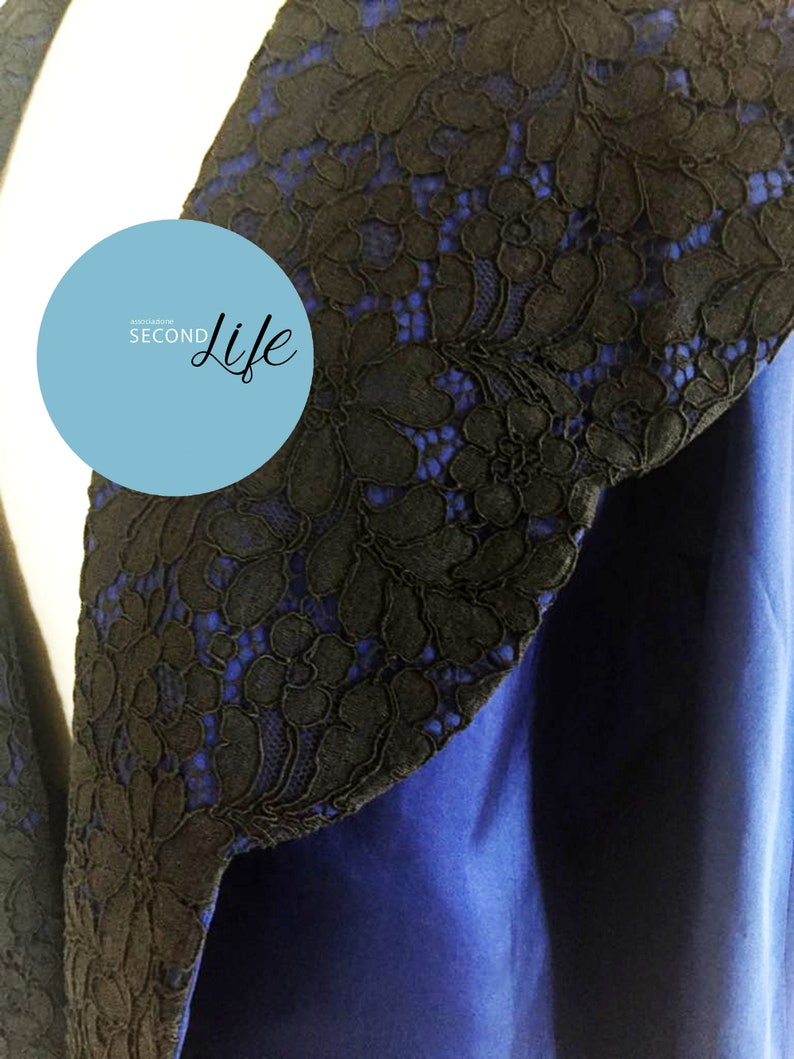 skirt  in lace and satin /_ completo vintage sartoriale gonna cappottino in raso e pizzo vintage sartorial coat