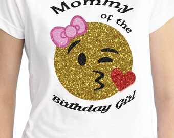 0764177e0 Emoji Birthday Shirt / Emoji Party Supplies / Emoji Birthday / Emoji Shirt  / Party Decorations / Custom Birthday Shirt / Emoji Family Shirts