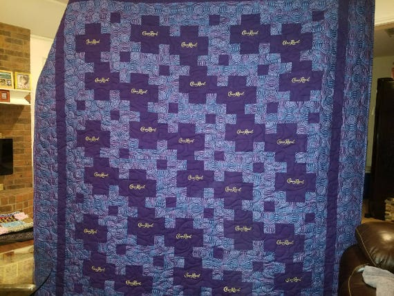 Crown Royal Quilt Etsy