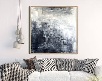 Modern Wall Art, Abstract Art, Black And White Print, Minimalist Poster,  Giclee Print, Contemporary Art, Home Decor, Wall Decor,