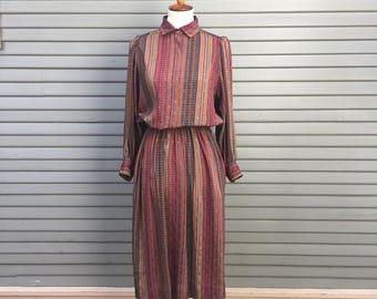 Vintage dress // Liz Claiborne // pockets
