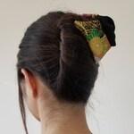 Claw Clip using Japanese Kimono fabric
