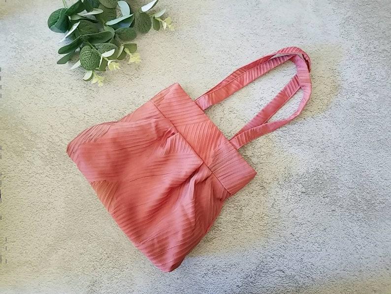 Silk bag Re-designed from Japanese Silk Kimono