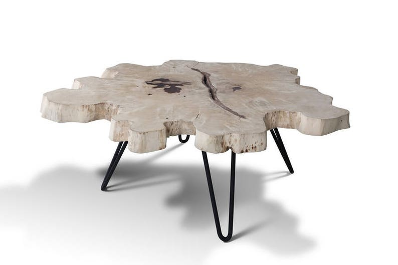 Extra Large Wood Coffee Table.Extra Large 115cm Live Edge Slab Coffee Table Cloud Shape Wood Coffee Table One Of A Kind Slice Live Edge Table