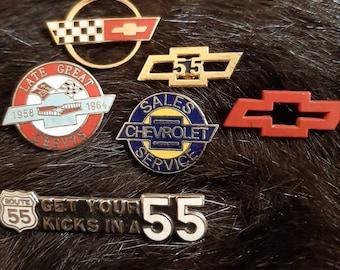 "Chevy Chevrolet One 1 Round PATCH 3"" 70s 80s Logo Vtg Rare Uniform"