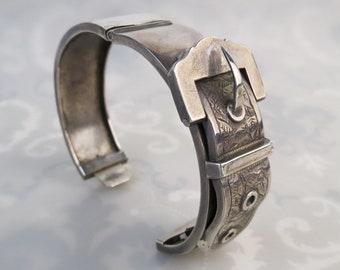 Earrings Green Prehnite Quartz Sterling Silver Chain Tribal Primitive Boho #1884