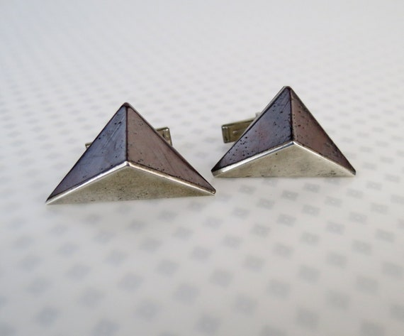 Mid Century modern Esther Lewittes sterling silver