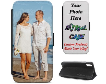 0d0ab32e931d3 Custom Samsung Galaxy J7 Series Personalize Photo PU Leather Wallet Flip  Case customized with your image