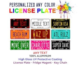 Tanzania Flag Any Text Personalized Aluminum Novelty Car License Plate