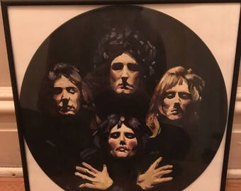 Queen Painted Record