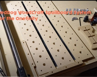 Onefinity CNC Multi Option Spoilboard System