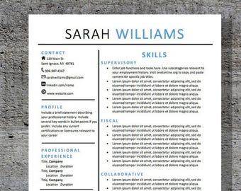 Custom Resume Bundle