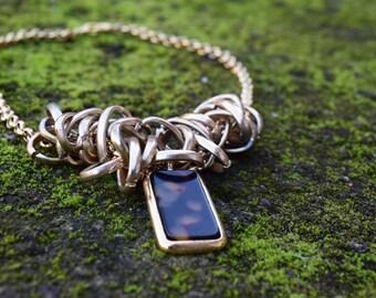 vintage jewellery ,necklace ,handmade