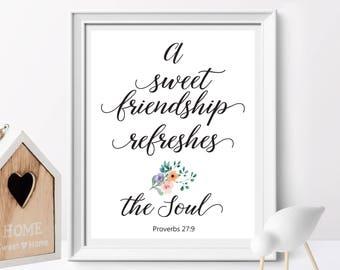 Proverbs 27 9 Etsy