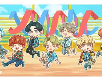 BTS DNA Sticker Pack