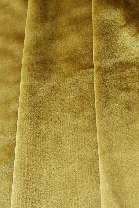 Gold Velvet Curtains Velvet Drapes Custom Blackout Drapes