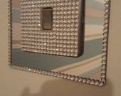 Crystals lightswitches brass chrome towelholder kitchentowelholder crystallightswitchcovers rystallightswitches